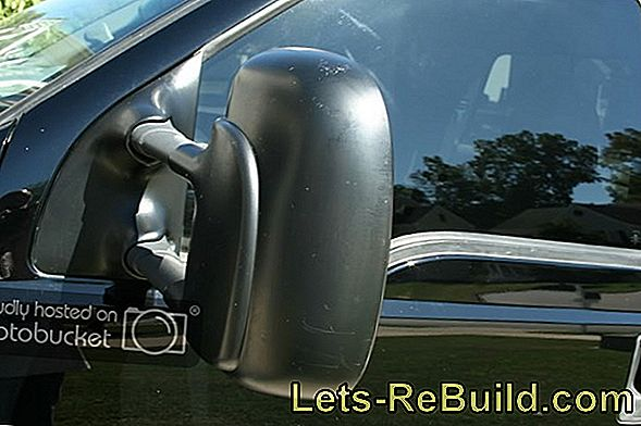 Remove Scratches - Exterior Mirror Housings