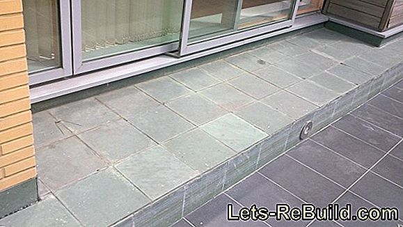 Repair patio tiles and repair patio tiles
