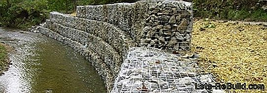 Build Gabions: Stone Baskets As Noise Protection