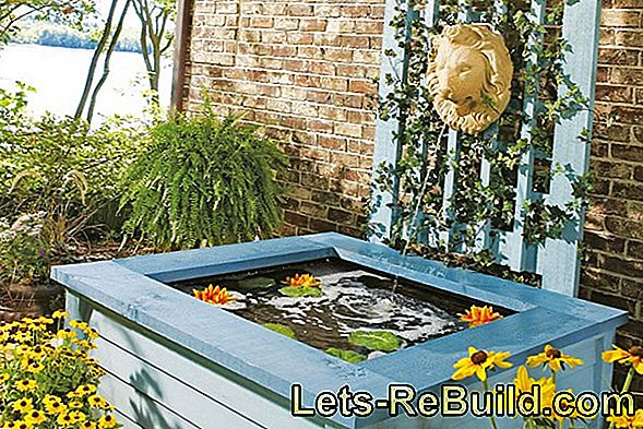 Create Pond With Pond Liner Or Pond