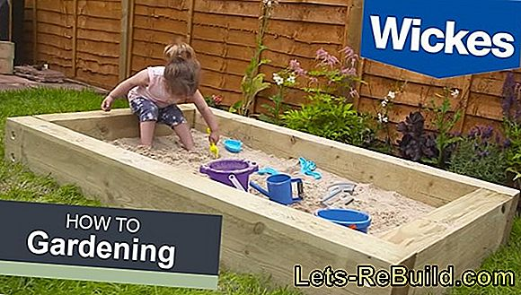 Sandpit: The sandbox for the garden