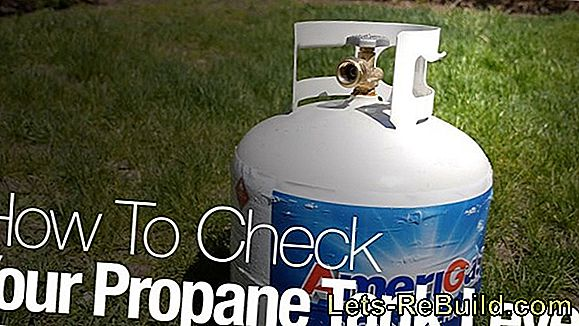 Weigh The Gas Cylinder » How To Determine The Level