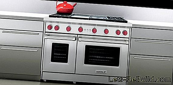 Serve gas stove - that's how it works