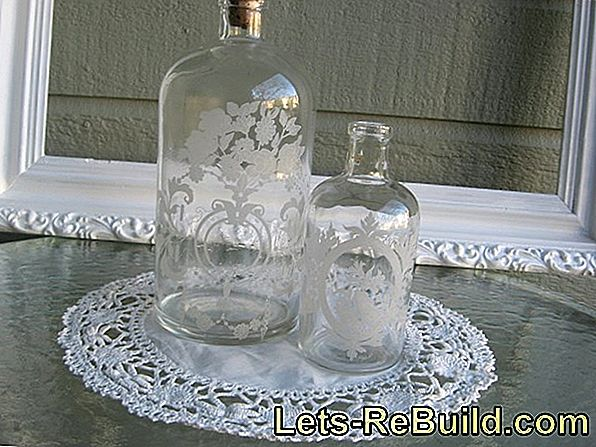 Engrave Glass Bottle » Instructions In 4 Steps