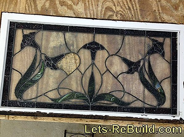 Leaded glass windows are not made of leaded glass