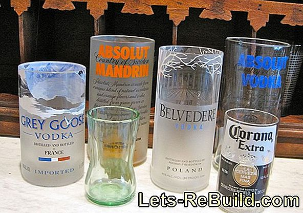 Making Glasses From Bottles » Instructions In 5 Steps