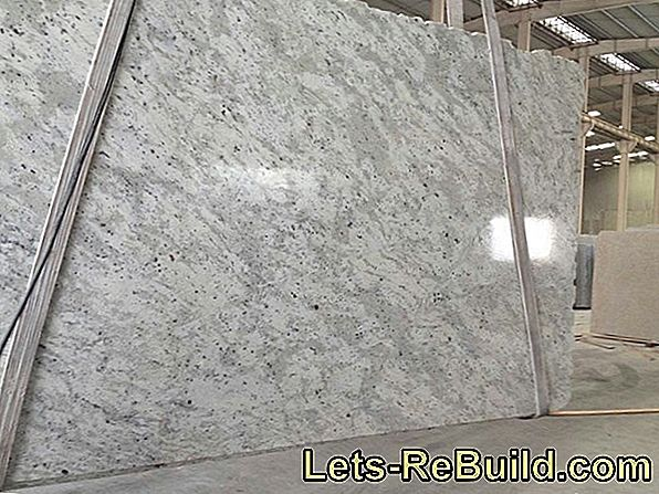 Granite Slabs Are Provided » This Is How It Is Done Outdoors