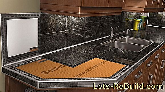 Cut granite tiles clean