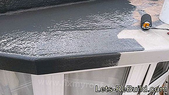 Rain Gutter Made Of Plastic » Inexpensive And Strong