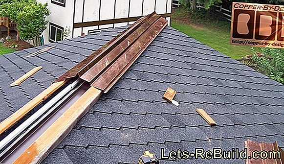 Structural conditions determine the gutter installation