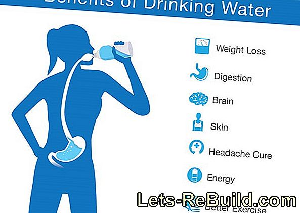 The effect of water on the human body