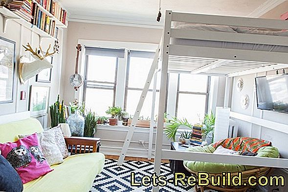 Loft Bed In An Old Apartment » Tips & Hints