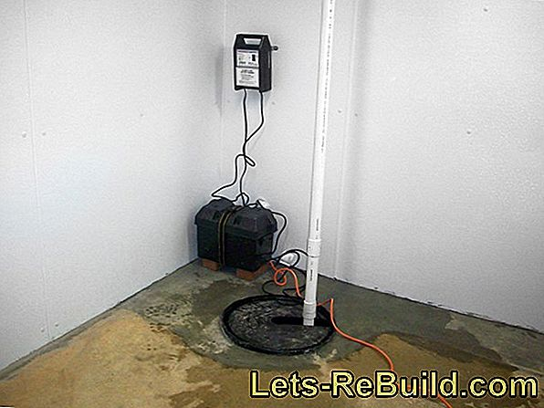 Basin Pump Out With Water In The Basement