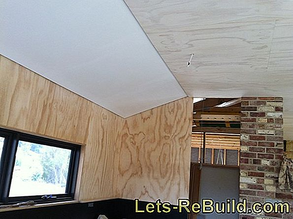 Cover The Ceiling With Plasterboard