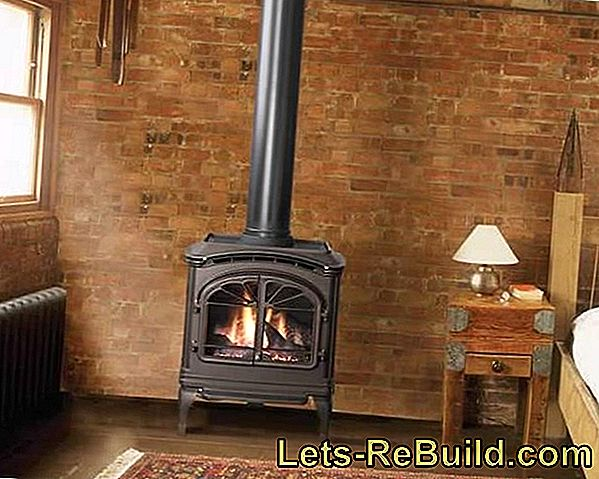 Build a fireplace or tiled stove yourself