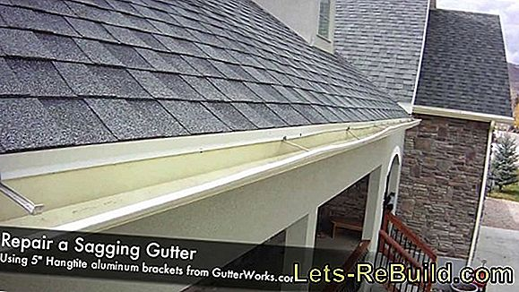 Fixing The Gutter - Nock Nuts System - Fit Gutter