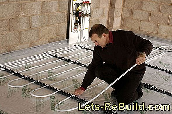 Installing underfloor heating: systems and work steps