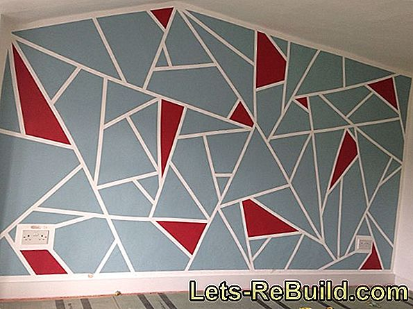 Masking Technique: Ideas For Color Design Of The Walls And Wall Painting