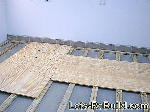 Lay And Glue Osb Boards