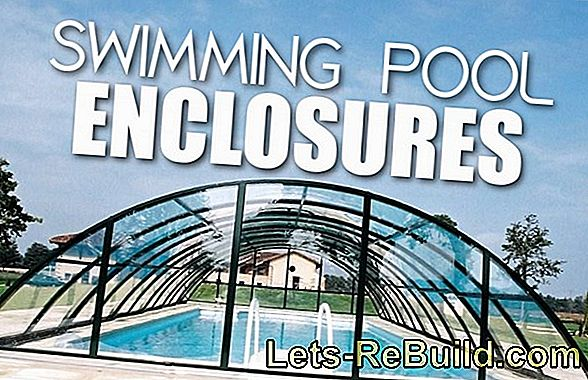 Build swimming pool enclosure yourself