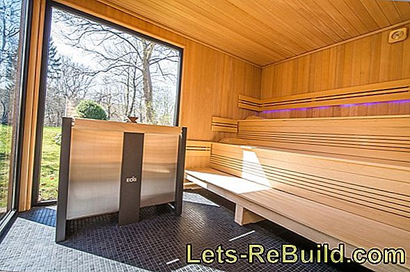 Sauna in self-construction