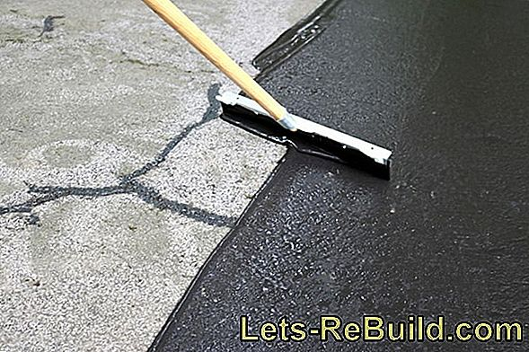 Apply sealing slurries - seal walls and floors