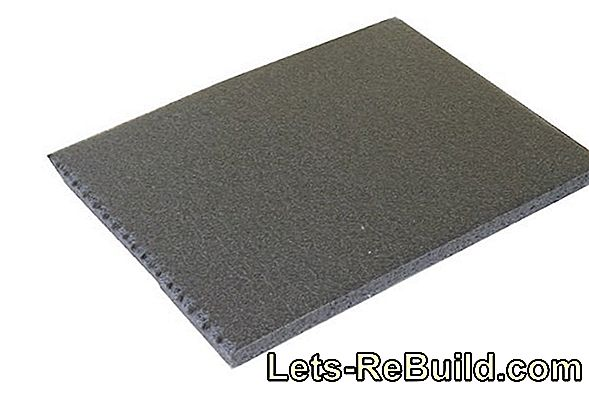 Impact Sound Insulation And Vapor Barrier For Parquet