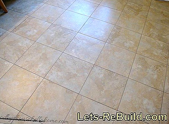 Tile Grout - Instructions
