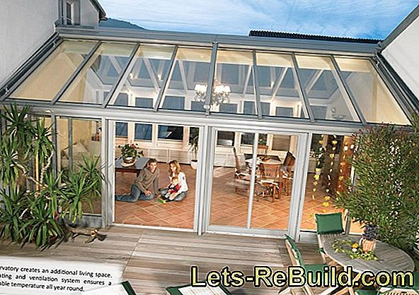 Conservatory: heating and ventilation