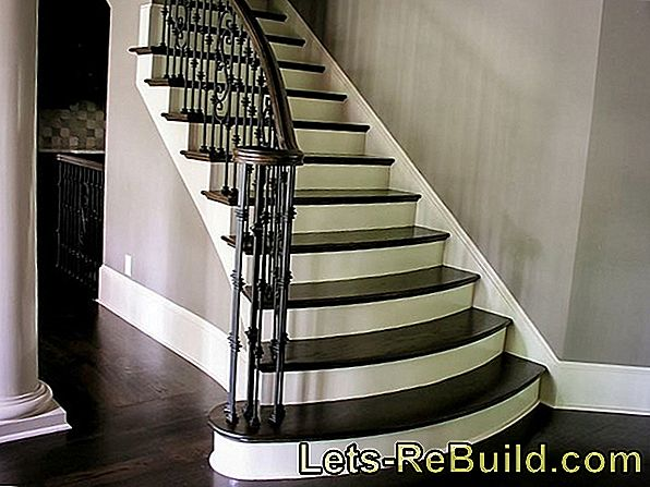 Renovate wooden staircase
