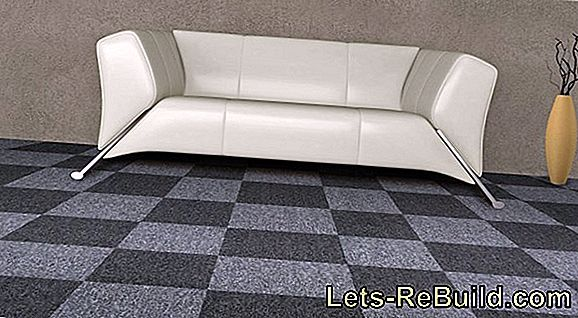 Industrial flooring in the living area is a modern alternative
