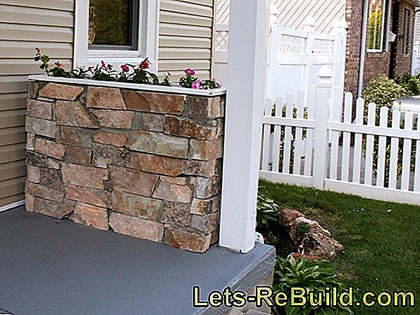 Dress The Interior Wall With Stones » Instructions In 4 Steps