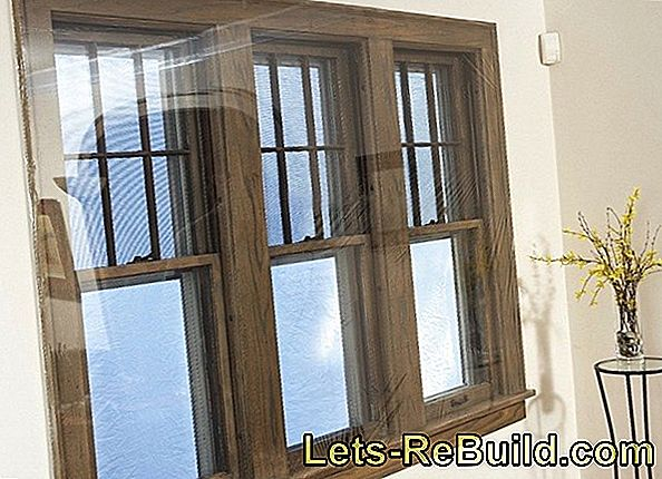 Window film thermal insulation