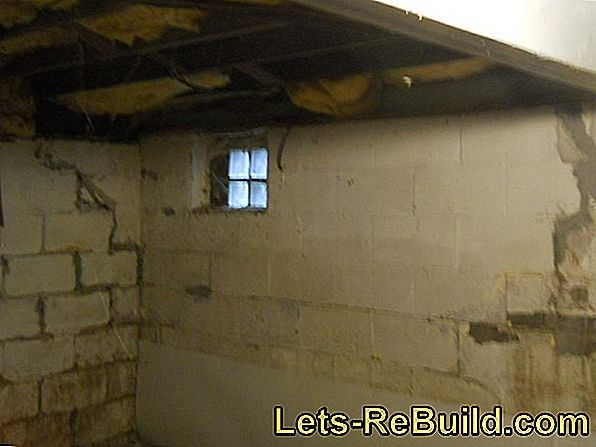 Cellar insulation - indispensable for energy-efficient renovation