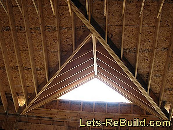 Rafter insulation - complex, but particularly effective