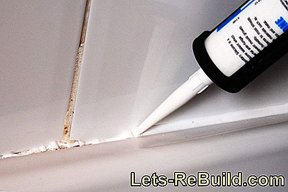 Renew silicone joints by the professional: These costs are incurred