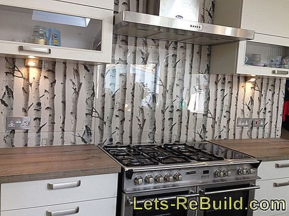 Wallpaper Kitchen Back Wall » (K) A Good Idea?
