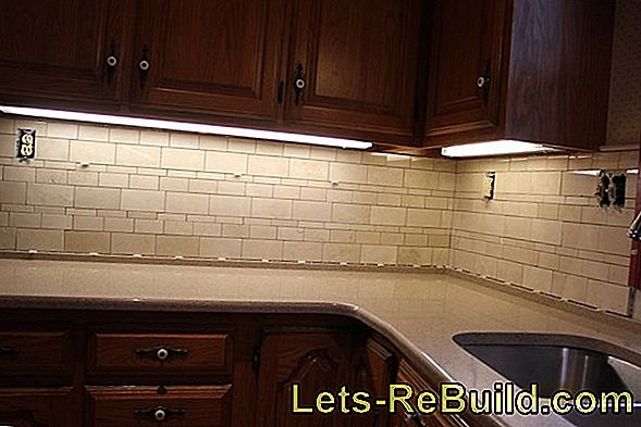 Attach Kitchen Back Wall » Instructions In 5 Steps