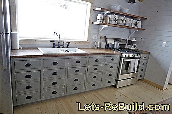 Build your own kitchen cabinet - is that possible?
