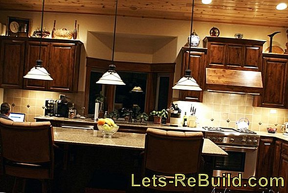 Paint kitchen furniture and renew overall appearance