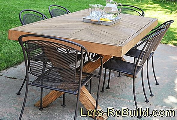 Build Your Own Kitchen Table » Instructions In 4 Steps