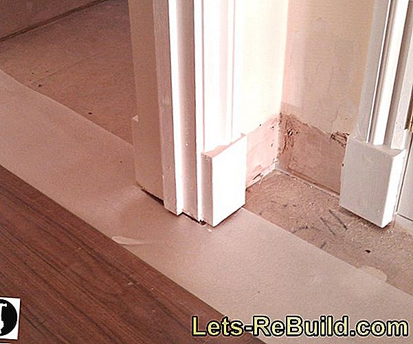 Tips for laying laminate