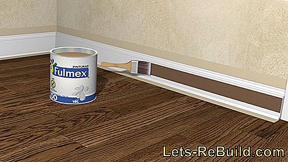 For laminate cut the strips for the wall base