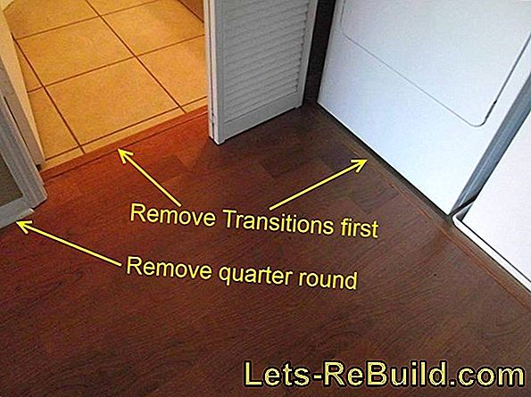 Replace a laminate floor in a relatively simple way