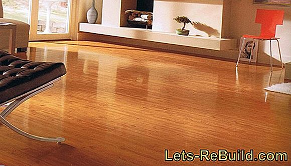 Lay laminate flooring of various types