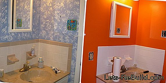 Latex paint, the ideal painting for the bathroom?