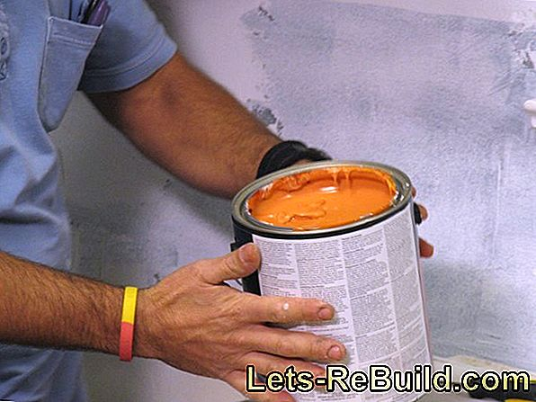 Remove latex paint thoroughly from plaster for a new coat of paint