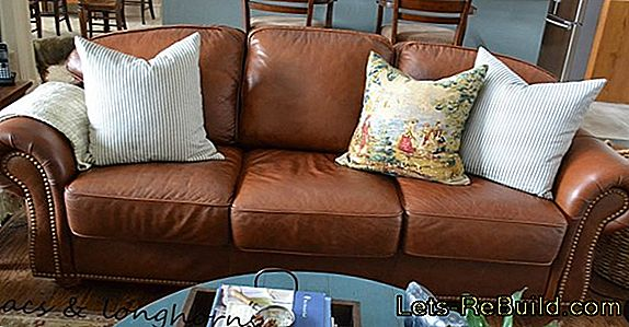 Working Up Leather Sofa » How To Freshen Up Color And Softness