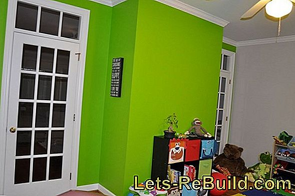 Stylish play of colors: How can I color my lime paint?