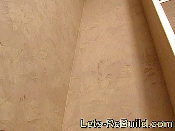 Instructions for painting lime plaster